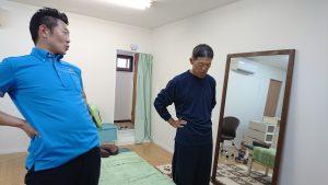 ぎっくり腰専門スマイルLABO施術の流れ
